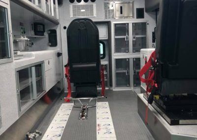 inside of module from rear