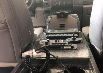 cab center console